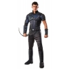 Marvels Civil War Deluxe Muscle Chest Hawkeye Costume